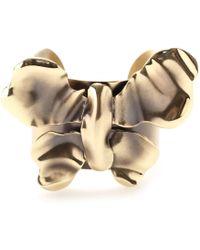 Nina Ricci - Butterfly Cuff Bracelet - Lyst