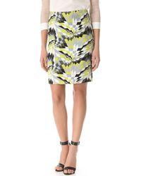 Tibi Isosceles Pencil Skirt - Lyst