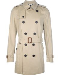 Burberry Britton Trench Coat - Lyst