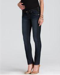 Paige Paige Maternity Jeans - Union Skyline Ankle Peg In Carson - Lyst