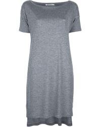 T By Alexander Wang T-Shirt Dress - Lyst