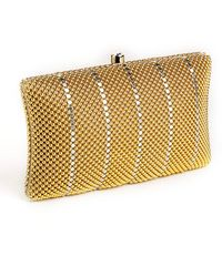 Whiting & Davis Crystal Pillow Minaudiere Bag - Lyst