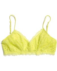 Madewell Honeydew Intimates X Madewell Lace Bralette - Lyst