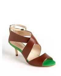 Boutique 9 Merista Leather Sandals brown - Lyst