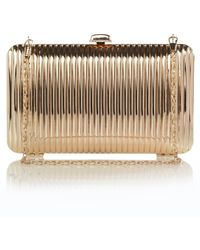 French Connection Ripple Clutch - Lyst