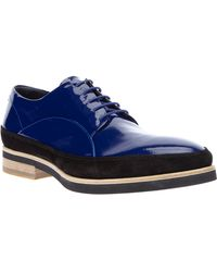 John Richmond - Patent Derby Shoe - Lyst