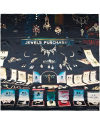 Temps Des Reves - Bond Street Jewels Printed Silksatin Scarf - Lyst