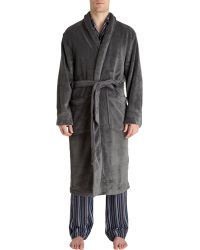American Essentials - Plush Robe - Lyst