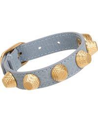 Balenciaga Arena Giant Gold All Stud Bracelet - Lyst