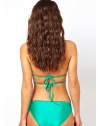 American Apparel - Tricot Flat Bikini Bottom - Lyst