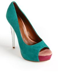 Boutique 9 Claudius Leather Platform Pumps - Lyst