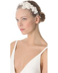 Jenny Packham - May Veil Headdress I - Lyst