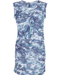 IRO Glenn Gathered Dress - Lyst