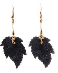 Lucifer Vir Honestus - Agate Leaves Earrings - Lyst