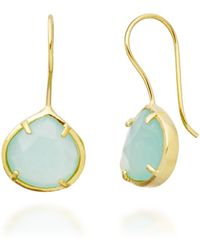 Coralia Leets - Peruvian Opal Small Teardrop Earrings - Lyst
