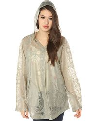 Free People The Utility Raincoat - Lyst