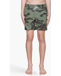 G-Star RAW -  Camouflage Ripstop Swim Shorts - Lyst