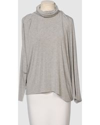 Cut25 By Yigal Azrouël Long Sleeve Sweater - Lyst