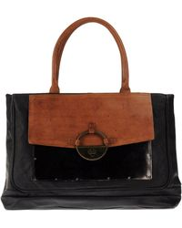 Diesel Large Leather Bag - Lyst