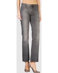 Gianfranco Ferré - Denim Trousers - Lyst