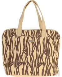 Lancetti - Large Fabric Bag - Lyst