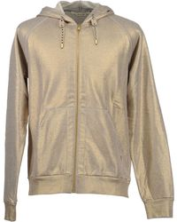 Marc Jacobs Gold Hooded Sweatshirts - Lyst