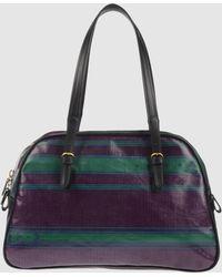 Roberta Di Camerino Large Fabric Bag - Lyst