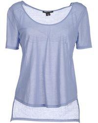 Theyskens' Theory Short Sleeve T-Shirt - Lyst