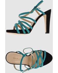Entourage Platform Sandals - Lyst