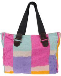 Marni Medium Fabric Bags - Lyst
