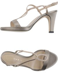 Martin Clay Highheeled Sandals - Lyst