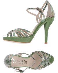 Paco Gil Platform Sandals - Lyst