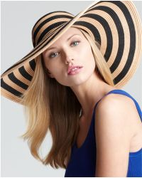 Rachel Zoe - Straw Twotone Sun Hat - Lyst
