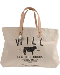 Will Leather Goods - Large Fabric Bag - Lyst