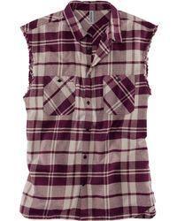 H&M Sleeveless Shirt - Lyst