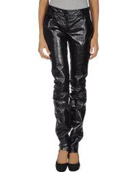 Sophia Kokosalaki | Leather Trousers | Lyst