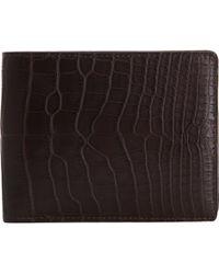 Delvaux - Crocodile Livre Wallet - Lyst
