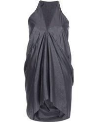 Rick Owens Sleeveless Dress - Lyst
