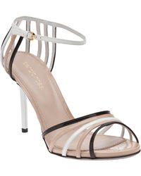 Sergio Rossi Tricolor Sandal - Lyst
