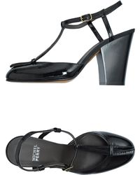 Michel Perry - Highheeled Sandals - Lyst