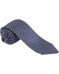 Paul Costelloe - Neat Flower Tie - Lyst