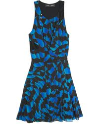 Proenza Schouler Sleeveless Print Dress - Lyst