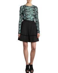 Proenza Schouler Grommet Hem Pleated Skirt - Lyst