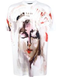 Givenchy Printed T-shirt - Lyst