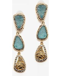 Kara Ross - Resin Drop Clip Earring - Lyst