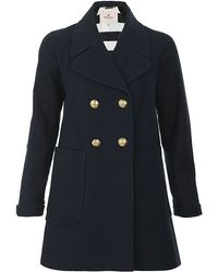 Juicy Couture - Tricotine Coat - Lyst
