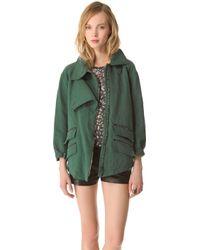 Kelly Wearstler Ornamented Linen Jacket - Lyst