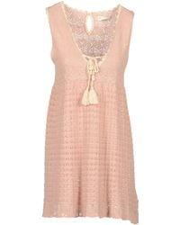 Odd Molly Short Dresses pink - Lyst