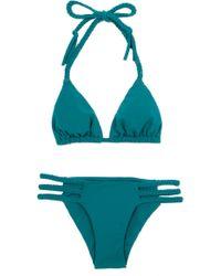 Mara Hoffman Braided Bikini - Lyst