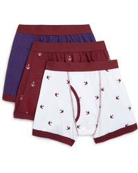 Topman Anchor Tattoo 3 Pack Underwear - Lyst